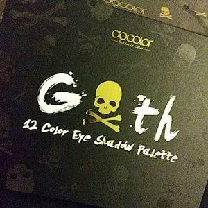 💀Docolor Goth Eye Shadow Palette!!